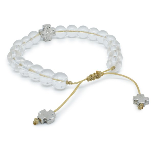 Sympathisches Kristallquarz orthodox Armband