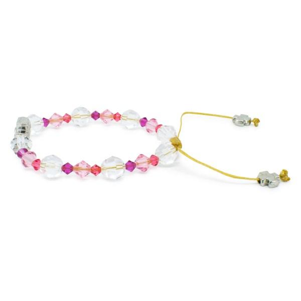 "Graceful Swarovski Crystal Prayer Bracelet ""Zoe"""