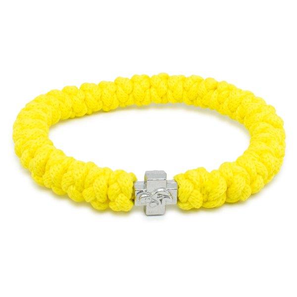 Yellow Prayer Bracelet-0