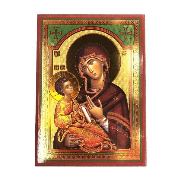 Glorious Orthodox Icon of the Holy Theotokos (Virgin Mary).