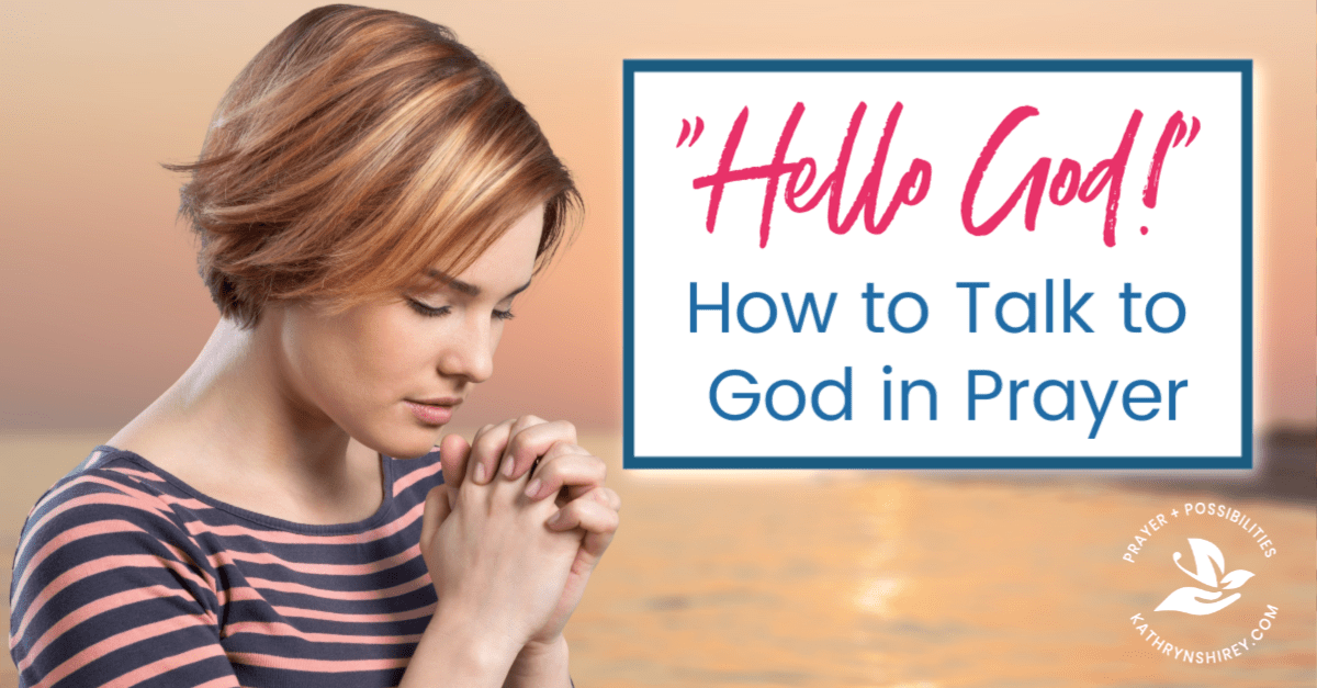 Prayer is our conversation with God. Learn three key components to talk to God in prayer and hear his voice in your life. Enter the conversation!