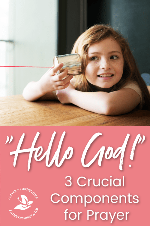 How is your conversation with God? Do you have these three crucial components? Learn how to talk to God in prayer.