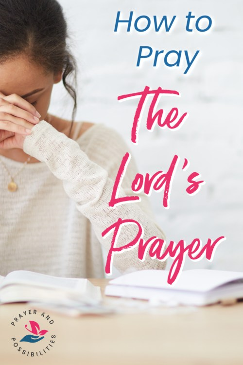 The Lord's Prayer is your guide on how to pray. Learn how to pray the Lord's Prayer and make it your own. Pray more effectively using Jesus' template.