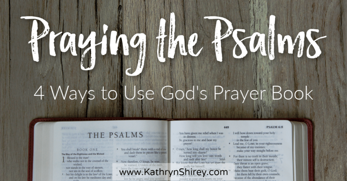 Praying the Psalms is a great way to develop your prayer language and pray God's Word back to him. Learn how to pray the Psalms, some of the best Psalms to pray, and how using Psalms to Pray will enhance your prayer experience.