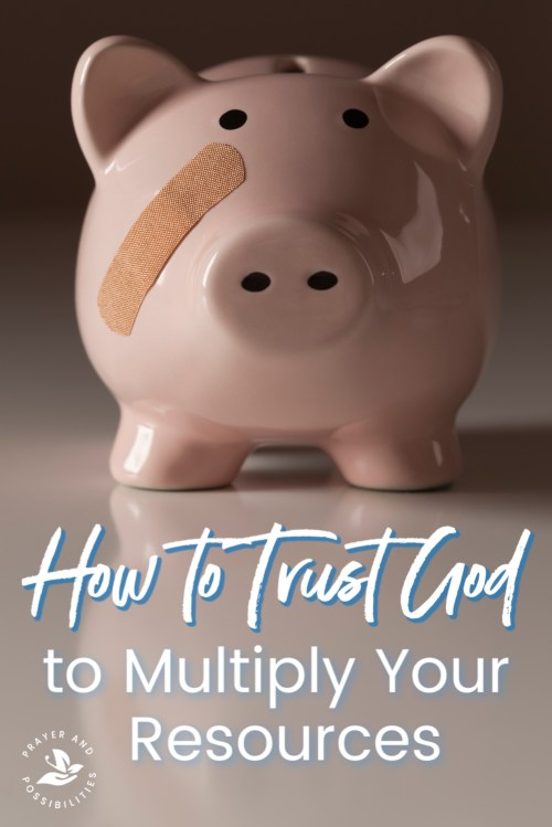 When your resources are running low, trust God to multiply those resources. Learn how to trust God will provide, even when you can't see the way forward.