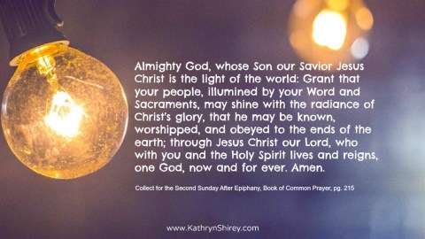 Prayer for Second Sunday After Epiphany, Book of Common Prayer