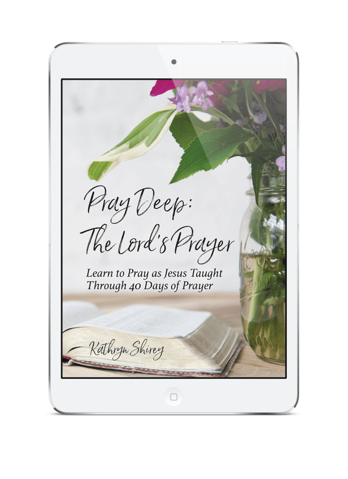 Pray Deep: The Lord's Prayer (digital download)