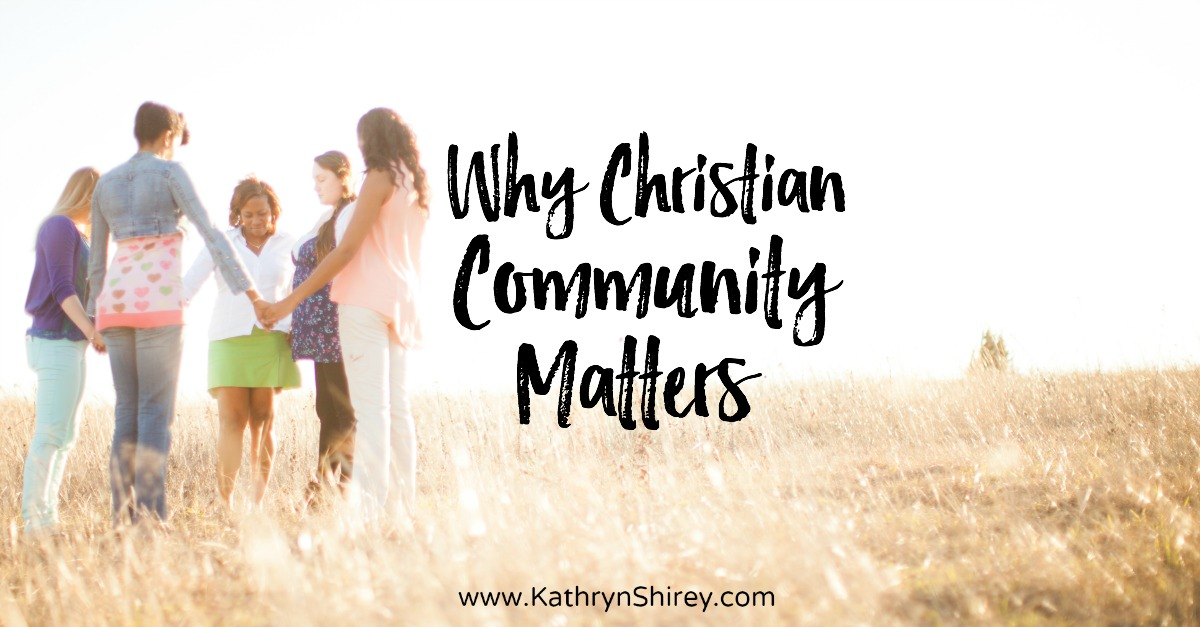 Think you don't need a church or an 'in real life' Christian community? Think again. Christian community matters. Being connected is vital for our faith!