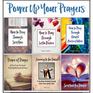 Power Up Your Prayers - The essential prayer bundle. Learn 3 methods of incorporating God's Word into your prayers. Dive deep into your daily prayers through 45 days of powerful daily prayer devotions. Power up your prayers with this study!