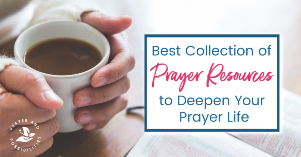 Ready to deepen your prayer life? Find all my best prayer resources to get started. Most of these include free printable downloads.