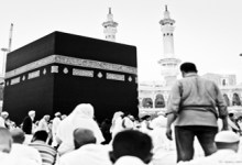 The Sacred Mosque in Makkah.