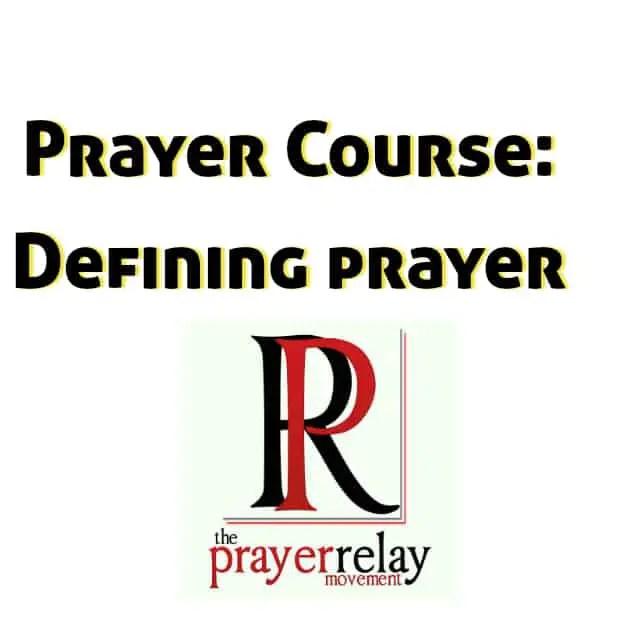 defining prayer