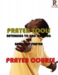 Prayer Tools Prayer Course 1