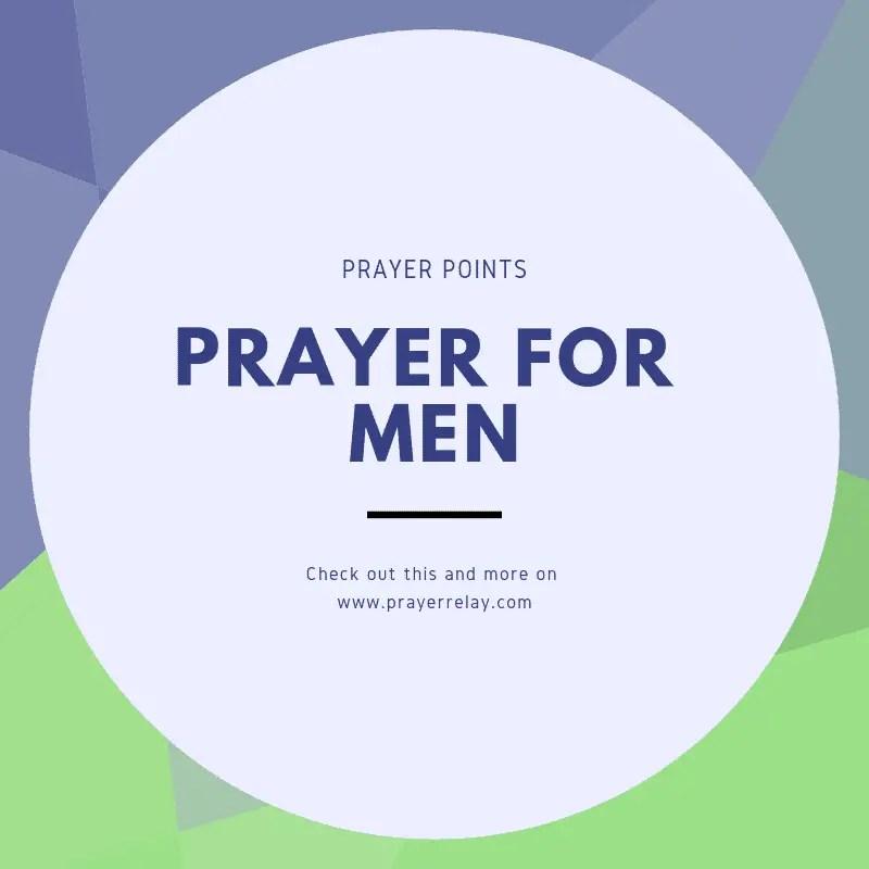 Prayer for Men