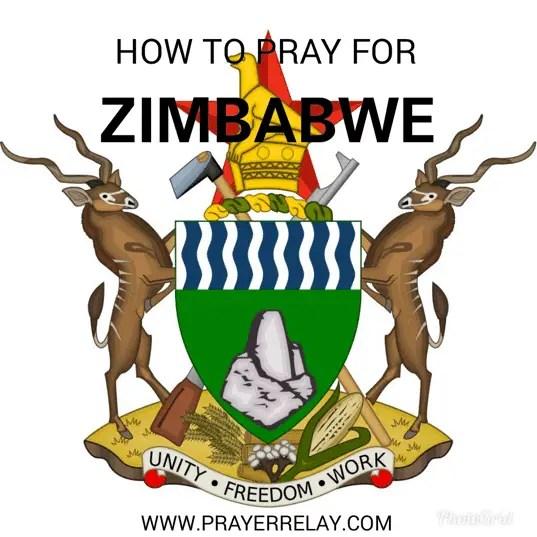 pray for Zimbabwe