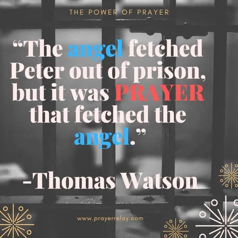 Power of prayer: Thomas Watson Quote
