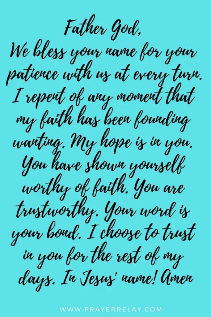 Confession Prayer that Births Redemption 2