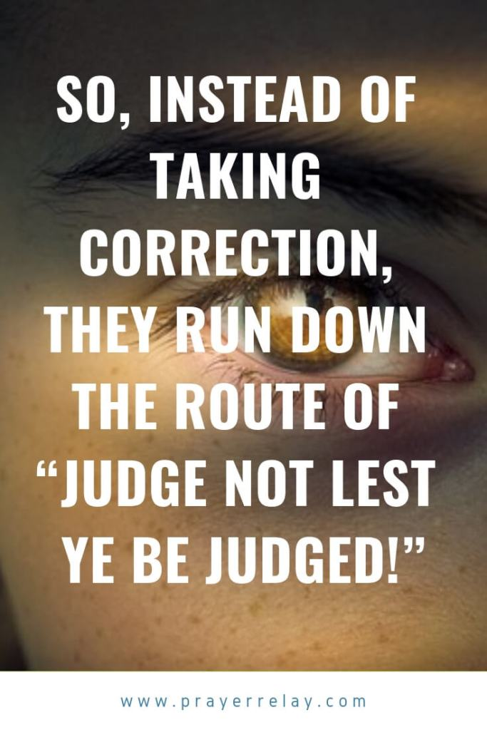Judge Not Lest Ye Be Judged Meaning
