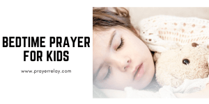 Bedtime Prayer for kids