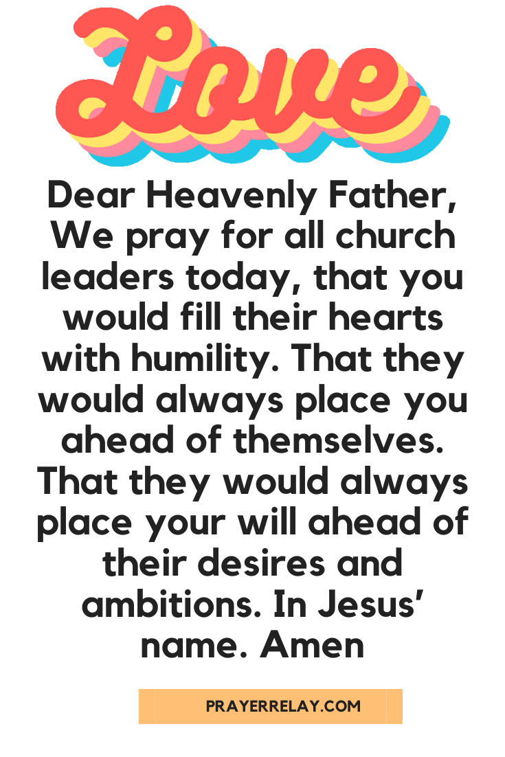 Prayer for Church Growth 9