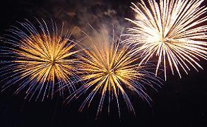 midnight prayer fireworks for 9-9-9 of 2009