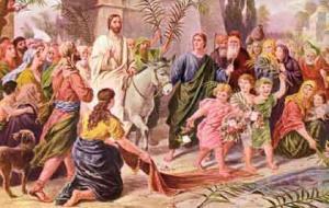 Jesus Triumphal Entry