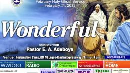 Holy Ghost Service February 2013
