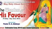 Holy Ghost Service RCCG MAY 2013