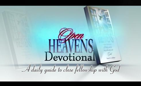 open heavens devotionals