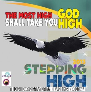 Stepping High Prayer and Fasting for Singles MFM Gen218 Programme