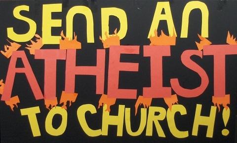Send an Atheist to Church