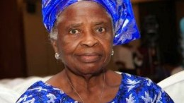 Mrs Olubisi Osinbajo - Mother of Nigeria's Vice President-elect Prays