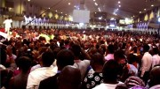 Bishop David Oyedepo Prophesying at Faith Tabernacle