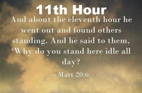 11th Hour Sermons