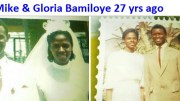 Mike and Gloria Bamiloye 27 years ago