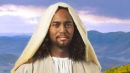 A dark-skinned Jesus being postulated from archaeological discoveries