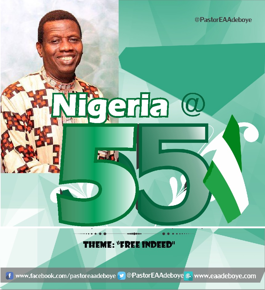 October 2015 Holy Ghost Service - FREE INDEED - By Pastor E. A. Adeboye