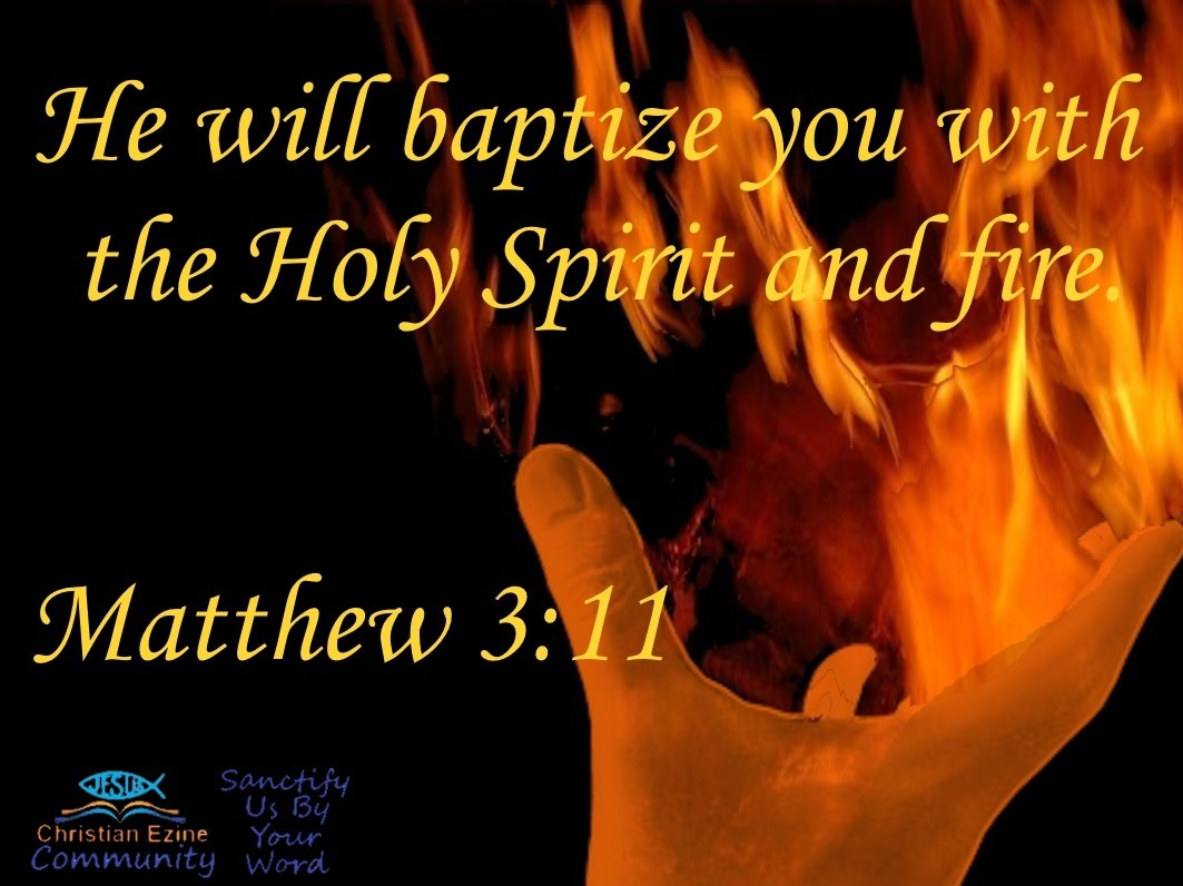 BAPTISM WITH HOLY FIRE
