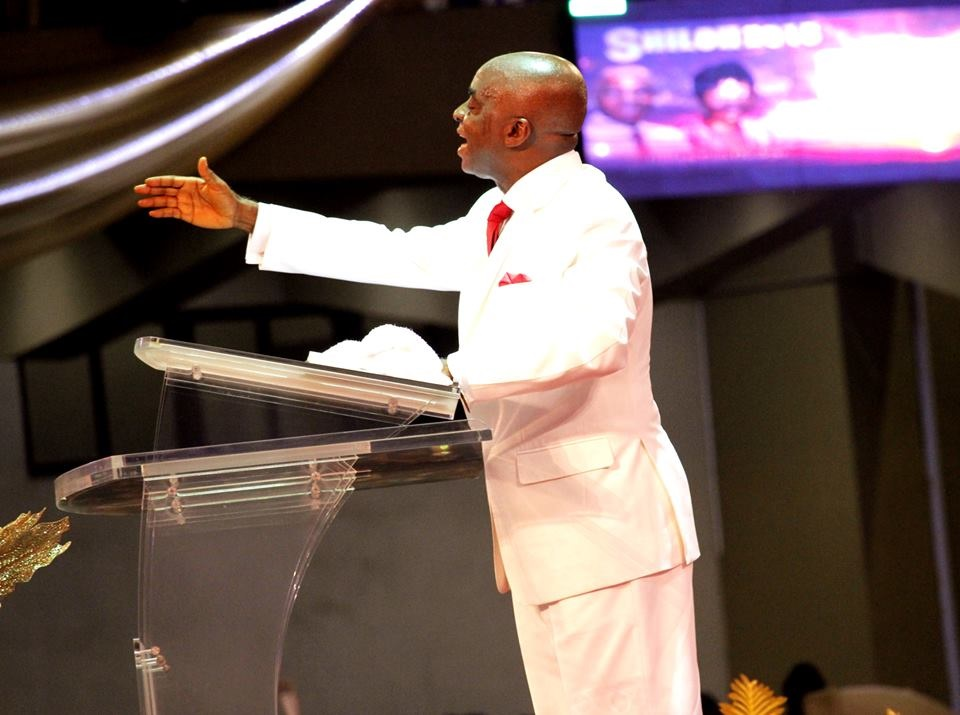 Bishop David Oyedepo.