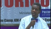 May 2016 Holy Ghost Service - Pastor E.A. Adeboye Ministering.