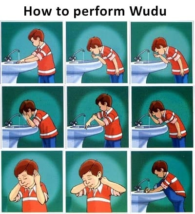 how to make wudu in islam