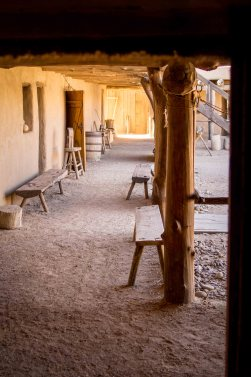 Bent's Old Fort, La Junta, Colorado