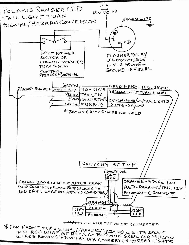 Utilizing the stock led s as turn signal brake hazard lights rh prc 2003 polaris ranger wiring diagram utv turn signal wiring diagram