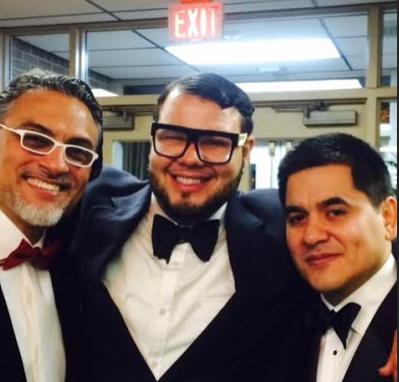From left, David Silva, executive director of the PRCC, Ernesto Cruz, and José Saavedra, chairman of the PRCC board of directors.