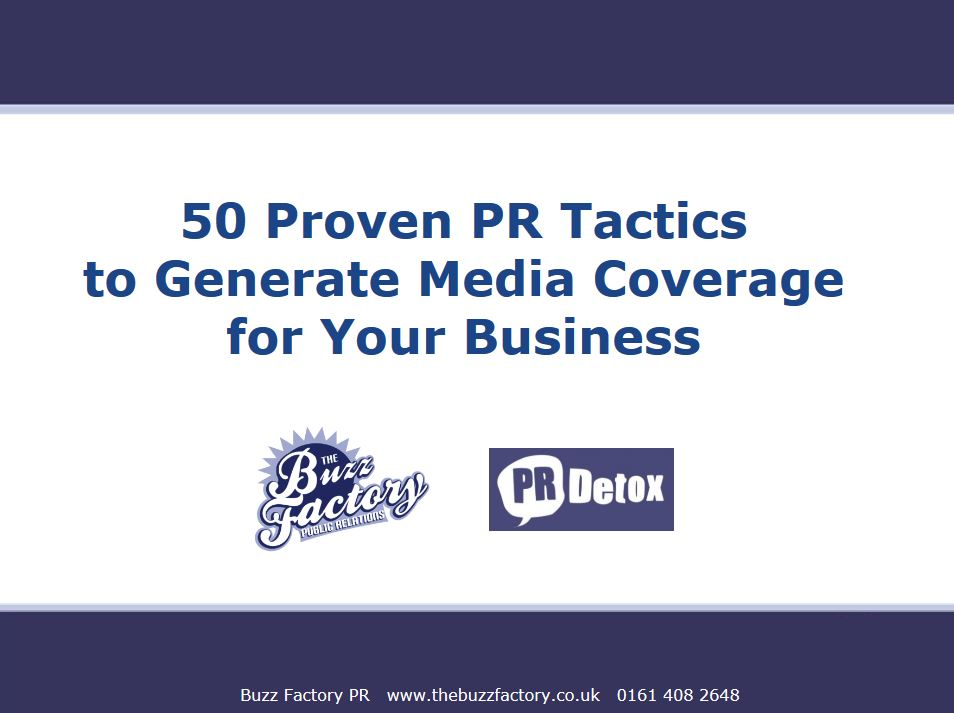 50 Proven Public Relations Tactics to Generate Media Coverage for Your Business