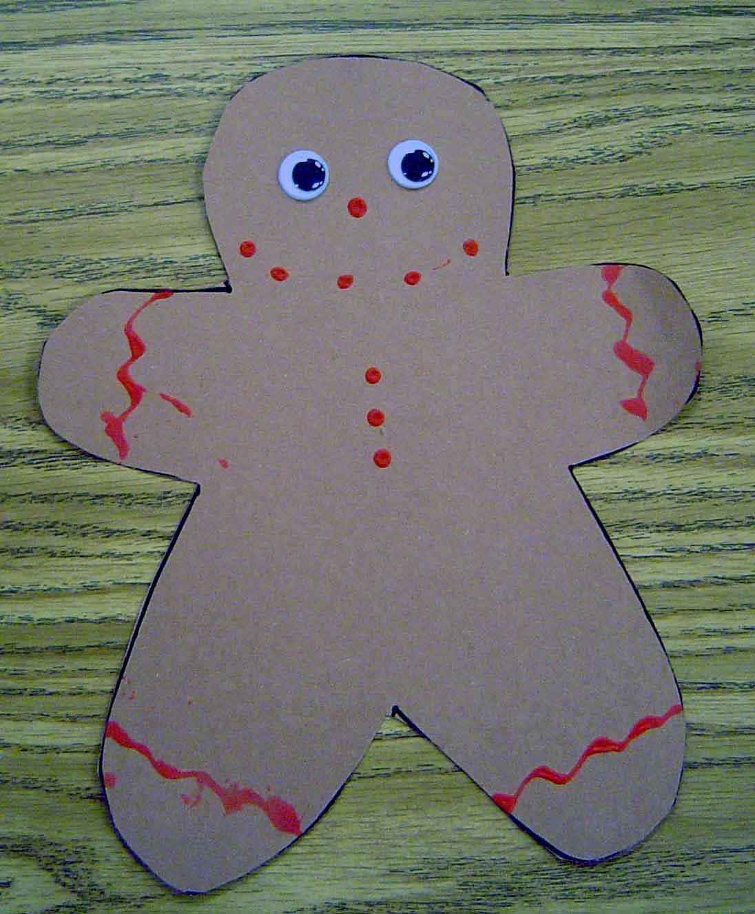 Gingerbread Man Theme Activities For Preschool