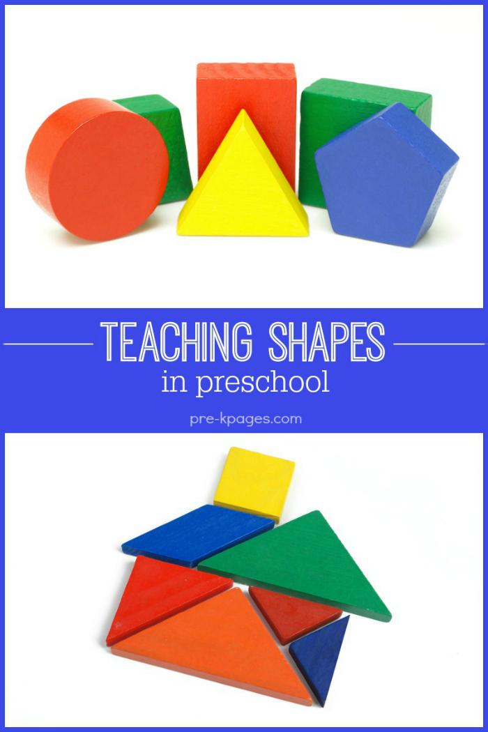 teaching-shapes-pre Teaching Kindergarten Using Centers on pocket chart, free math, math activity, beginning year, literacy learning, rotation board,