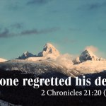 Sermon: A Man whose Death nobody Regretted