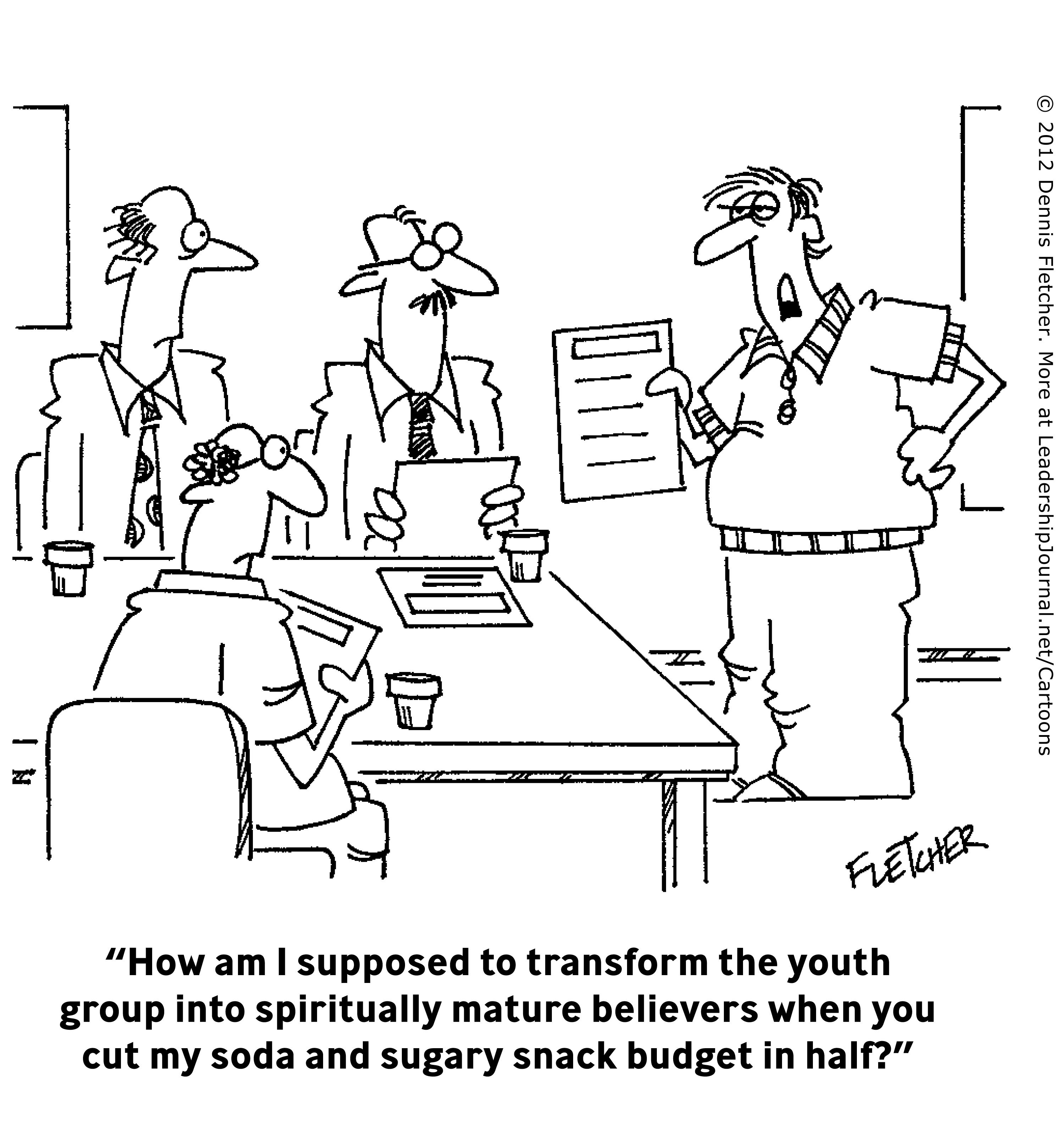Funny Pastor Cartoons