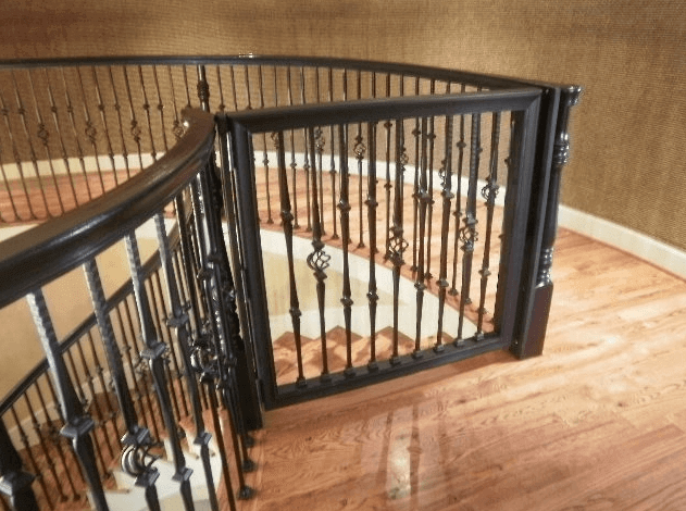 Best Safest Custom Baby Proof Gates In Houston Tx Precious | Steel Gates And Stairs | Dreamstime | Handrail | Stainless Steel | Fence Gate | Egress